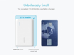 Picture of Anker PowerCore 10,000 mAh  Power Bank with VoltageBoost  - White