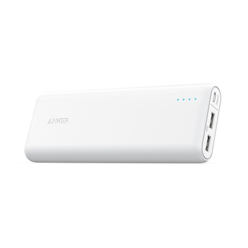 Picture of Anke Powercore 20,100 mAh Ultra High Capacity Power Bank - White