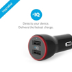 Picture of Anker PowerDrive , 2 Ports 24W With 3ft Micro-USB Cable - Black