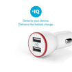 Picture of Anker PowerDrive , 2 Ports 24W With 3ft Micro USB to USB Cable - White