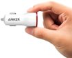 Picture of Anker PowerDrive+ , 1 Port 24W Car Charger QC3.0 With 3ft Micro Cable - White