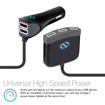 Picture of Naztech , Roadstar 5 USB Car Charger and Hub QC 3.0 - Black