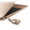 صورة اداتا ، ذاكرة فلاش ميموري من USB-A الى USB-C بسعة 16GB لاجهزة الابتوب والهواتف الذكية  - ذهبي