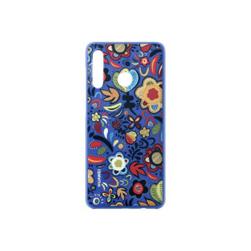 Picture of Huawei PC Protective Back Cover Mobile Case, for (Huawei) P30 Lite - Floral Blue