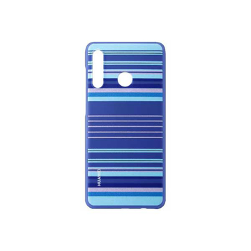 Picture of Huawei PC Protective Back Cover Mobile Case, for (Huawei) P30 Lite - Striped Blue