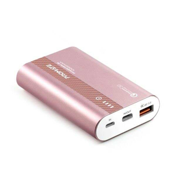 Picture of Promate Power Bank 18W PD 10000mAh With QC 3.0 - Rose Gold