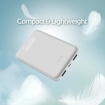 Picture of Promate Power Bank Ultra-Slim Lithium Polymer 10000mAh - White