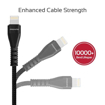 Picture of Promate Double-Sided USB-A To Lightning Cable 1.2m - Black