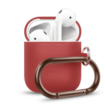 Picture of Elago Hang Silicon Case For Apple AirPods - Red