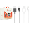 Picture of Griffin Bundle Twin Pack Essential Lighting Cables  - Black & White