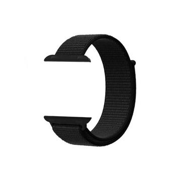 الصورة: بروميت شريط نسيج النايلون لساعات آبل بقياس 42مم - أسود