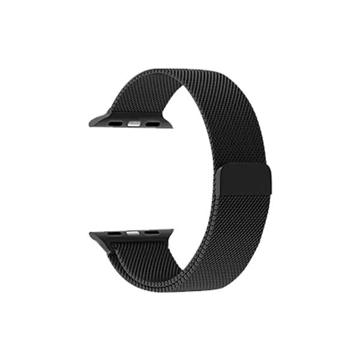 الصورة: بروميت شريط ساعة الميلانيز لساعات آبل بقياس 42مم - أسود