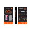 صورة ليمودو شاشة حماية زجاجية + غطاء حماية خلفي شفاف لاجهزة هواوي Nova 5T - اسود
