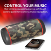 Picture of Promate 30W TWS Speaker with LED Light Show Blue - Camouflage