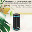 Picture of Promate 30W TWS Speaker with LED Light Show Blue - Black
