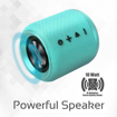 Picture of Promate HUMMER Wireless Speaker 10W with FM - Turquoise