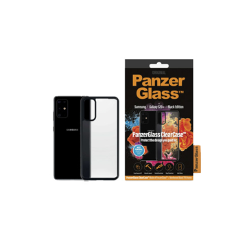 Picture of PanzerGlass Clear Case Black Edition For Samsung S20+ - Black