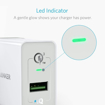 Picture of Anker PowerPort+ Wall Charger With 1 Port QC3.0 - UK - White