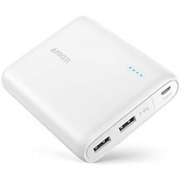 Picture of Anker PowerCore Portable PowerBank 13000 mAh - White