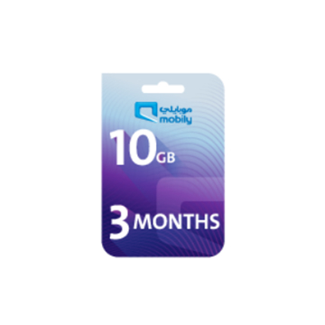 Picture of Mobily Data recharge 10 GB - 3 Months