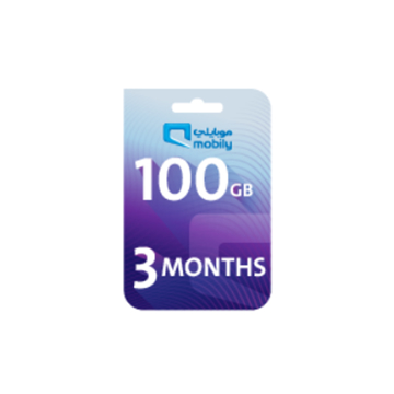 Picture of Mobily Data recharge 100 GB - 3 Months