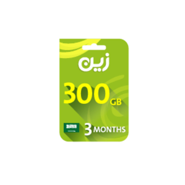 Picture of Zain Internet Recharge Card 300GB – 3 months