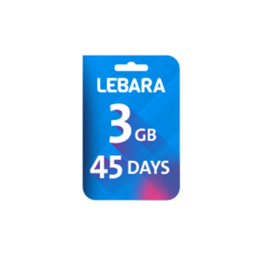 Picture of Lebara Data 3 GB 45days