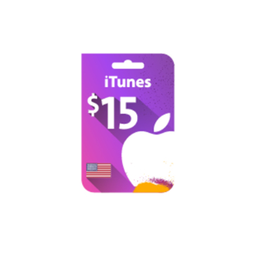 Picture of iTunes Gift Card $15 (US Store)