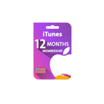 Picture of Apple Music 12-Months Membership Gift Card