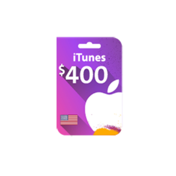 Picture of iTunes Gift Card $400 (US Store)