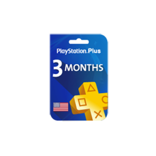 Picture of Playstation Plus - 3 Months (United States Store)