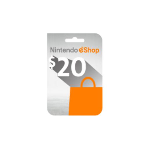 Picture of Nintendo eShop $20 Card