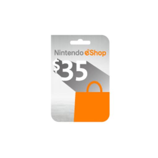 صورة بطاقة نينتيندو اي شوب 35  دولار