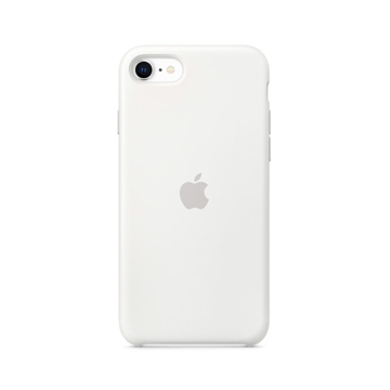 Picture of Apple iPhone SE Silicone Case - White