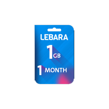 Picture of Lebara Data 1 GB for 1Month
