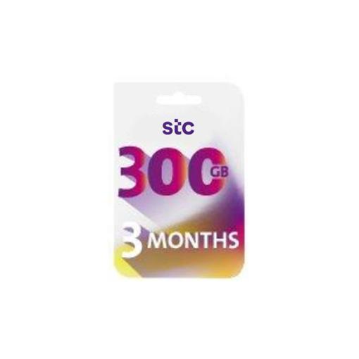 صورة STC بطاقة كويك نت -300جيجا - لمدة 3 شهر