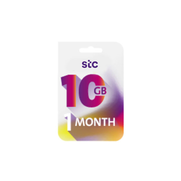 Picture of STC QUICK Net - 10 GB for 1 Month