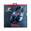 Picture of Flashfire Signal Headpfone HDM 1000, Surround Gaming Headset Wired, Omnidirectional Microphone - Black