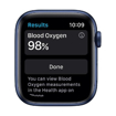 صورة ابل واتش الاصدار 6 40 GPS + Cellular ،ازرق ،هيكل الومنيوم ،Deep Navy Sport Band