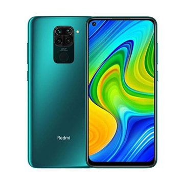 Picture of Xiaomi Redmi Note 9, 4G, 128 GB , Ram 4 GB - Forest Green