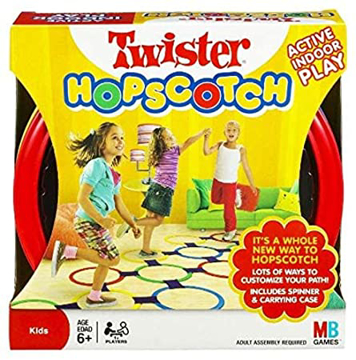 Picture of Twister Hopscotch Indoor Game