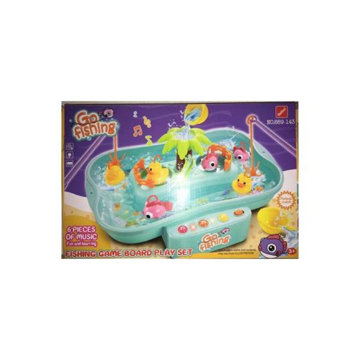 Picture of Plastic Fishing Game Go Fishing Toy