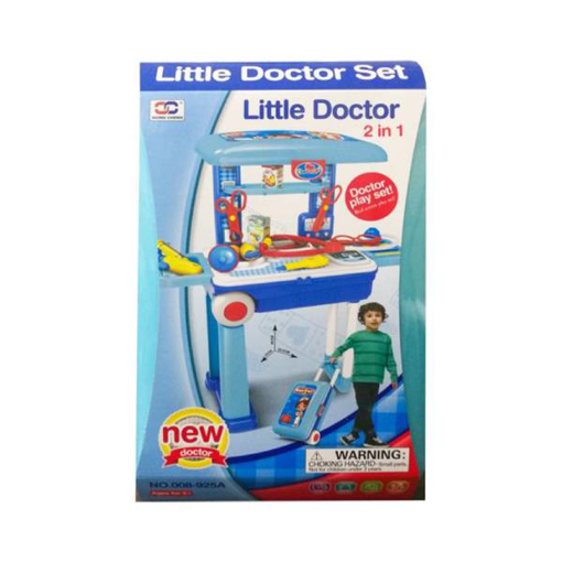 Picture of 2-In-1 Little Doctor Set Medical Suitcase