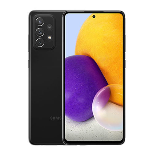 "Picture of Samsung Galaxy A72 Dual Sim, 4G , 6.7"" 128 GB, Ram 8 GB - Black"