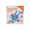 Picture of Mini Shopping Cart With Full Grocery Toy Set