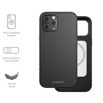 Picture of Cygnett MagSafe Case for iPhone 12 Pro Max - Black