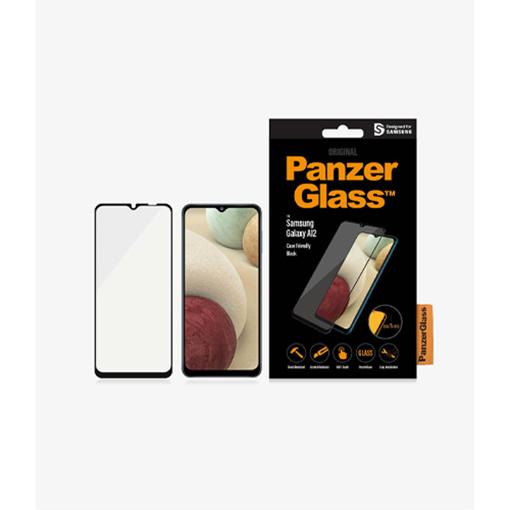 صورة بانزر جلاس ، حماية شاشة  زجاجية ، لاجهزة سامسونج A12