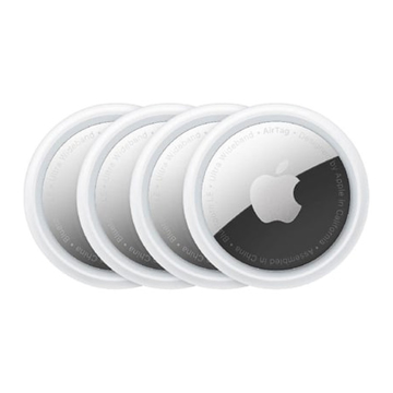 Picture of Apple AirTag 4-pack Multi-function Item Locator for iPhone/iPad - White