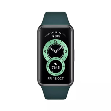 Picture of Huawei Band 6 Fitness Tracker With All Day SpO2 Monitoring - Forest Green