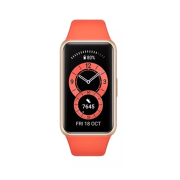 Picture of Huawei Band 6 Fitness Tracker With All Day SpO2 Monitoring -  Amber Sunrise